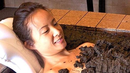 Mud bath in Calistoga