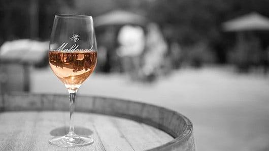 Glass of wine at Maldonado