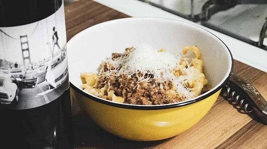 Bowl of Bolognese