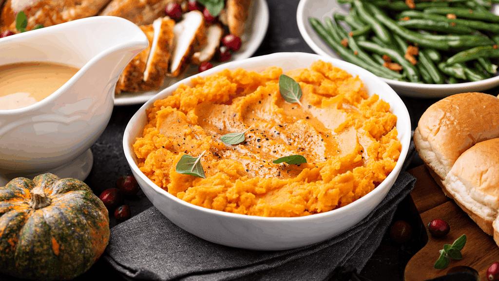 Sweet Potatoes and Turkey