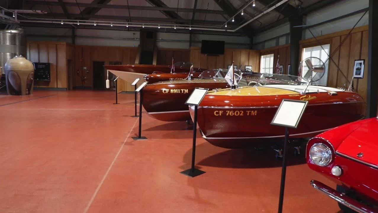 Boatique Winery Boats