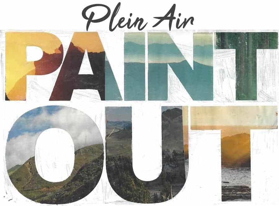Plein Air Paint out logo